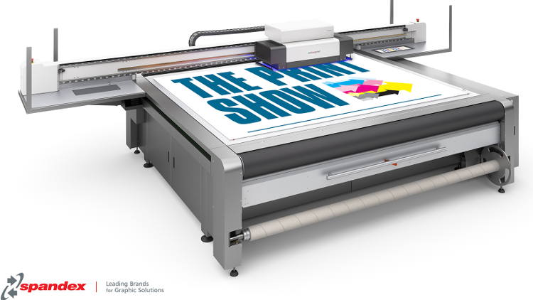 Spandex to showcase the swissQprint Impala flatbed printer at The Print Show 2018.