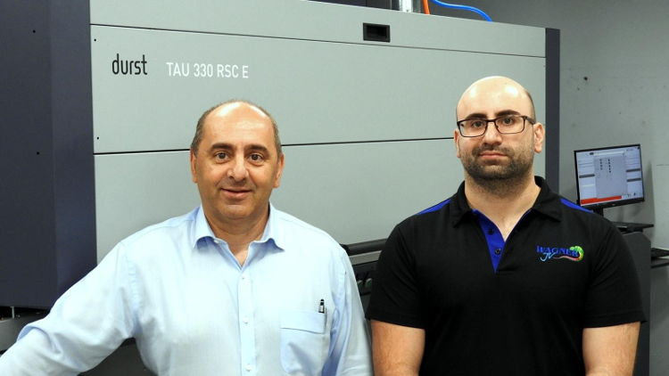 Wagner Prestige Labels reduces waste and ramps up capacity with Durst Tau 330 RSC E investment.