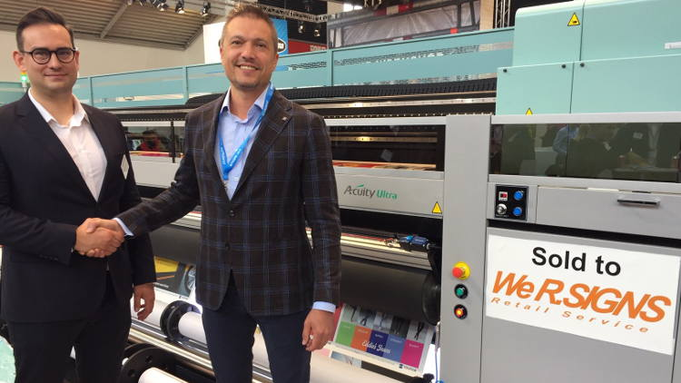 Russian large format specialist invests in Fujifilm's Acuity Ultra.
