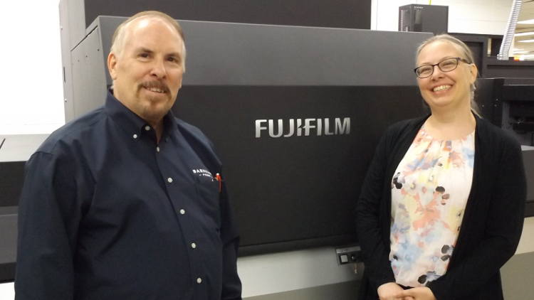 Wright Printing takes the lead as 1st US install of a Fujifilm J Press 750S.
