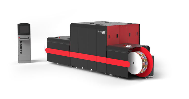 The Xeikon PX30000 UV inkjet press offers a cost-effective and fast time-to-market solution for short to medium run flexo jobs.