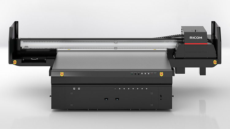 EICHE transforms industrial process with Ricoh Pro TF6250 large format UV flatbed printer.