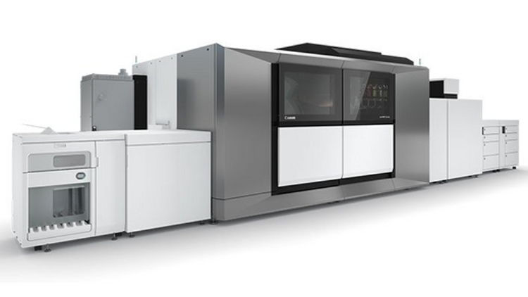 Severn drives growth by becoming the first company in the UK to invest in Canon's new varioPRINT iX-series.
