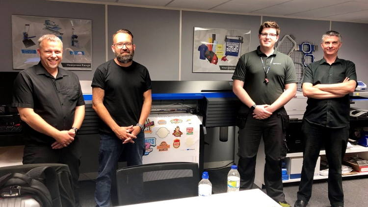 Roland DG celebrates shared ethos with new distributor Amaya Sales UK.