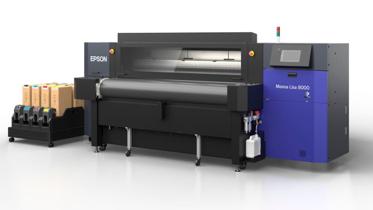 The ML-8000 is the new entry model in the Monna Lisa series with 8 latest PrecisionCore printheads. ML-8000 packs the power and performance of the latest world-class Epson inkjet printing and manufacturing technologies into a single package.