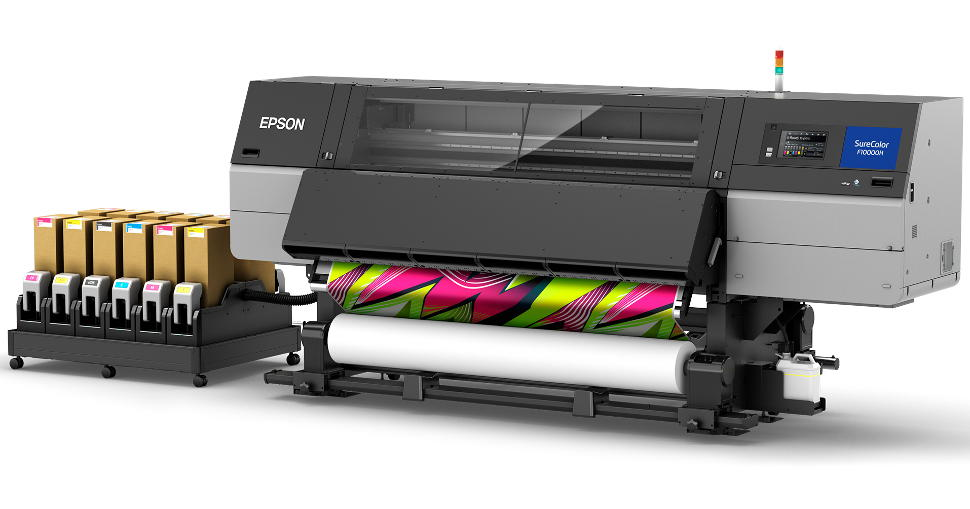 The robust SureColor SC-F10000H includes fluorescent or light coloured inks.