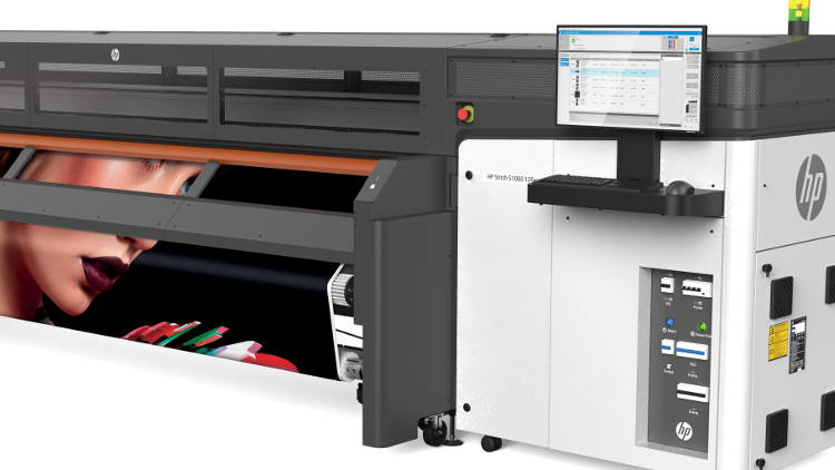 HP expands digital textile printing for signage and décor with new Super Wide Stitch S1000.