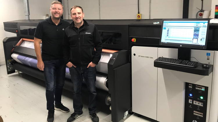 Manchester Print Services is the first HP Stitch customer in the UK, and PONGS is its materials manufacturer of choice for its dye sublimation output needs.