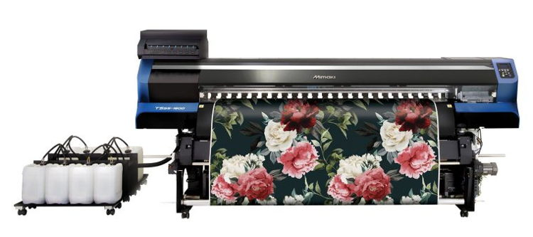 With the release of the TS55-1800, Mimaki delivers on making high-end digital textile printing features available to a much broader market.