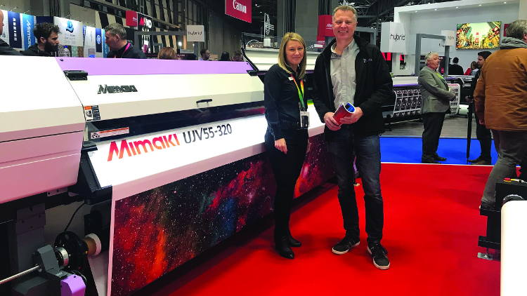 Modex adds fabric graphics capabilities with Mimaki UJV55-320 investment.