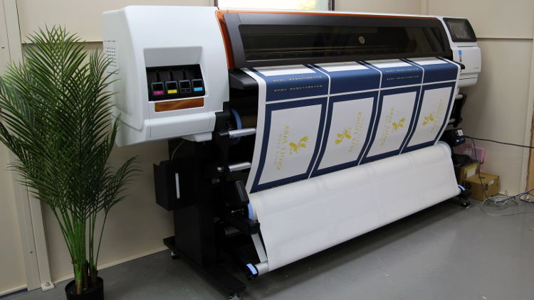 Golf equipment specialist Pinseeker is hoping to diversify into new markets following the installation of a new HP Stitch textile printing system.