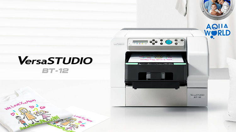 Roland DG Announces Availability of VersaSTUDIO BT-12 Direct-To-Garment Printer for  On-Demand Personalisation.