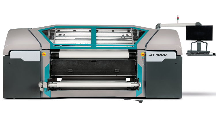 Roland DG ZT-1900 delivers exciting new digital opportunities in textile print.