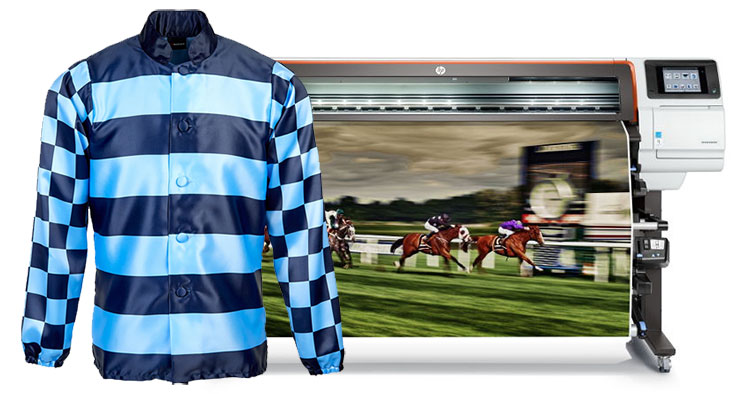 The addition of an HP Stitch S300 digital textile printer has transformed production of custom racing silks for leading equestrian brand Racesafe.