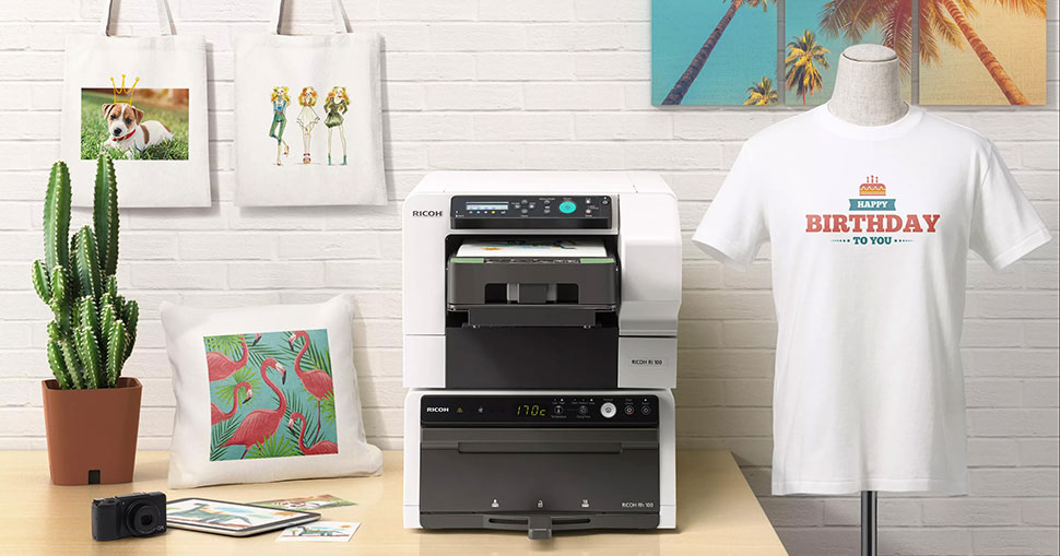 Coventry-based Scorpion Sports, the lucky winner of a new Ricoh Ri DTG 100 printer package in late 2020, plans to use the machine to access new markets.