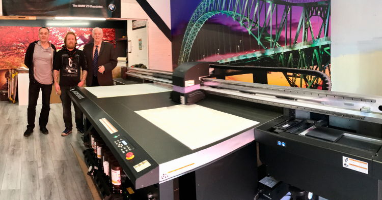 Productivity uplift, money savings and new future markets, all part of this impressive new UV flatbed printer package.