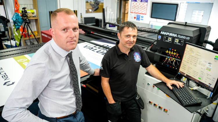 New AGFA engine increases profitability for Scunthorpe sign maker.