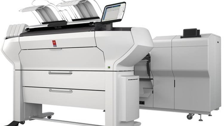 Canon launches Océ ColorWave 3000 wide format series for customers in AEC&M sectors.