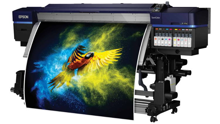 Epson announces two top-of-the range, high productivity signage printers at FESPA 2019.
