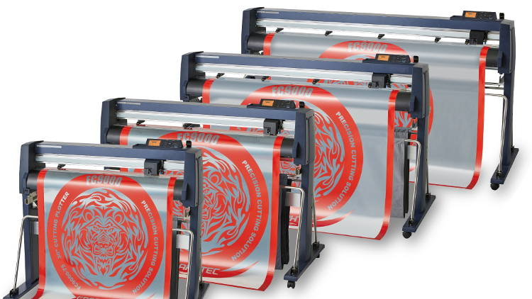 New flagship cutting plotter introduced by Graphtec GB.