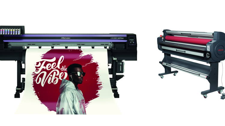 Free laminator and 3-year warranty with the new Mimaki JV300plus and CJV300plus.