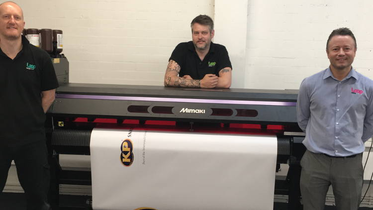 Loop Print and their purchase of the new Mimaki UCJV printer.