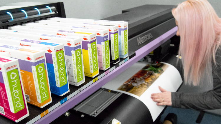 The Clever Baggers step-up production with the purchase of a new  Mimaki CJV150-75 from CMYUK.