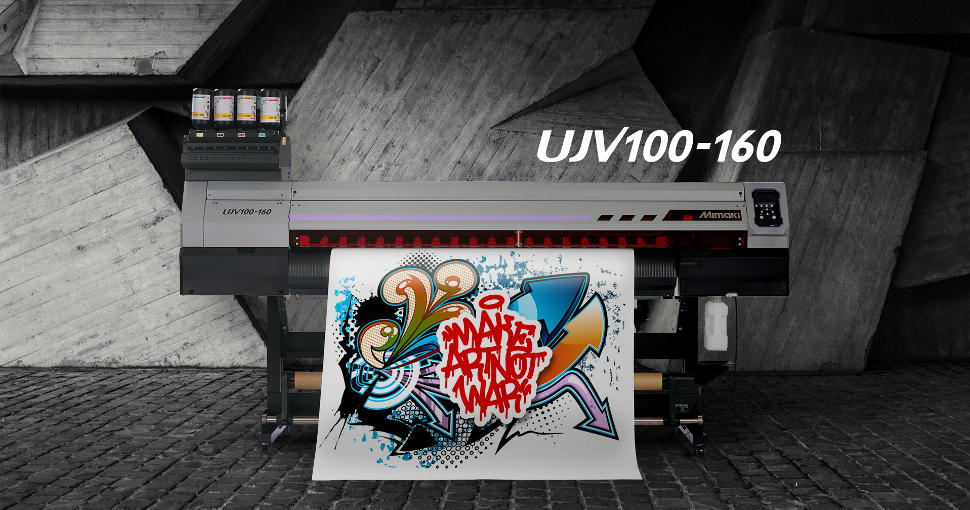 Mimaki's new 100 series enables users to overcome the impact of Covid-19.