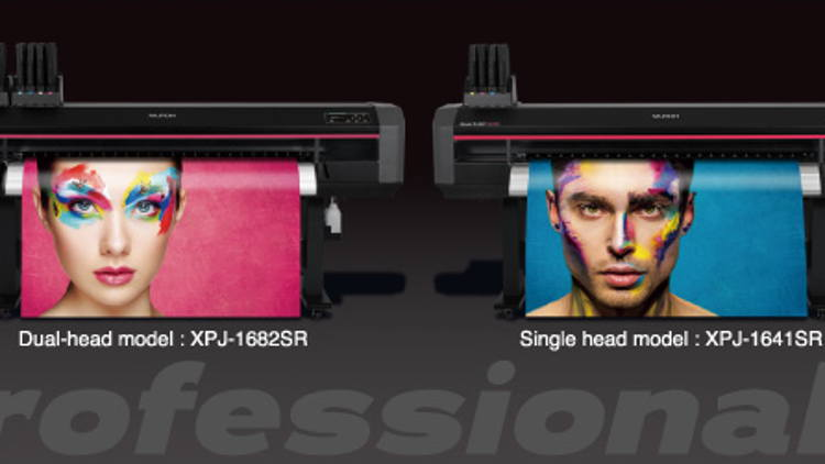 Mutoh Launches New Eco-Solvent Printer Platform, XpertJet 1641SR/1682SR.