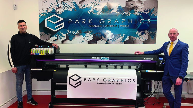Park Graphics enjoys rapid growth with Mimaki print, cut and laminate package.