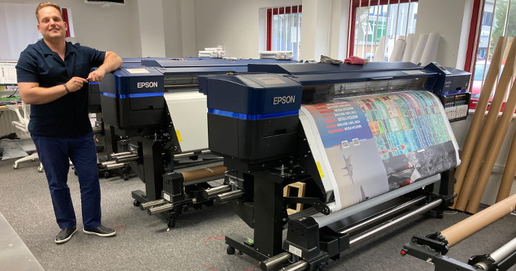 Parrot Print responds to pandemic uplift with fourth Epson SureColor SC-S80600.