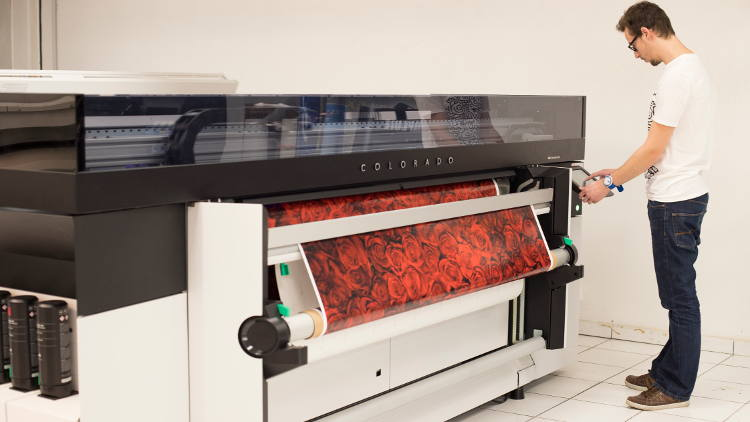 Poster Expo boosts firepower for exhibition graphics with high-speed Oce Colorado 1640.
