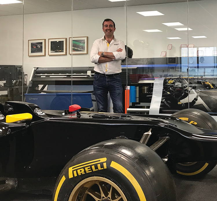 Renault F1 Team Joe McNamara