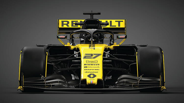 To be the best, trust your instincts:  Renault F1 Team chooses TrueVIS VG2.