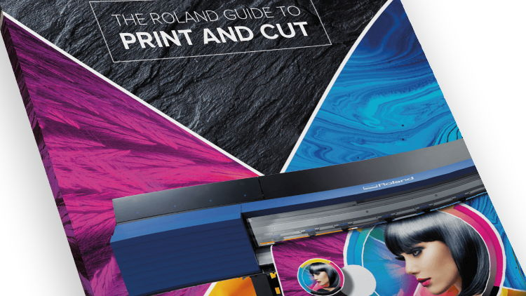 Roland DG release new guide to print and cut technology.