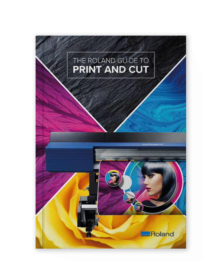 Roland DG Print and Cut guide Cover Image