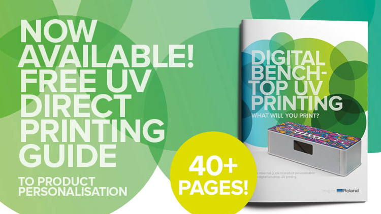 Discover the world of product personalisation with Roland DG's UV direct printing guide.
