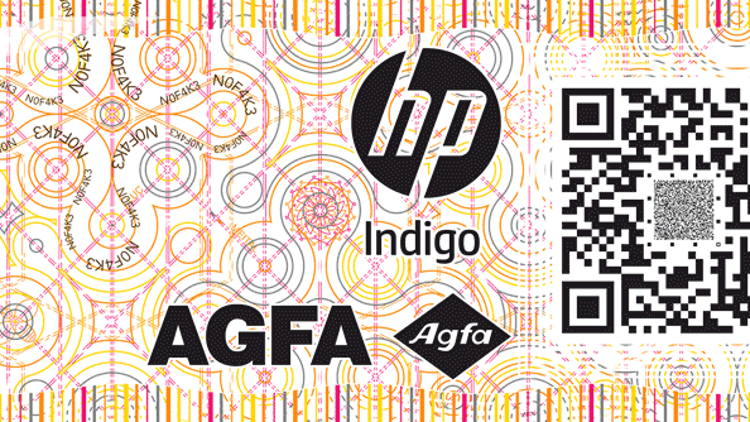 HP Indigo and Agfa introduce variable design solution for brand protection and security printing. HP Indigo Secure Studio powered by Agfa makes debut at Labelexpo.