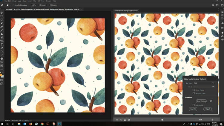 Free Beta Of Adobe Textile Designer Plugin For Photoshop