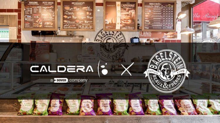 Caldera is thrilled to play its part in this journey – enabling Bagelstein to create a multitude of extraordinary and entertaining visuals to build the brand's unique identity across all of its stores.