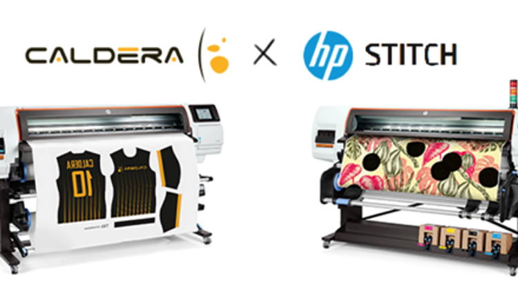 RIP specialist Caldera announces certification and support for HP's STITCH Series.