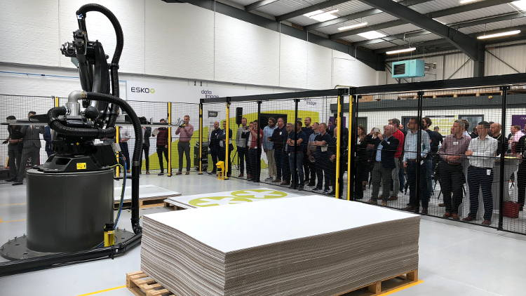 UK Signage customers turn out to see the power of Esko Automation Solutions at Open House.