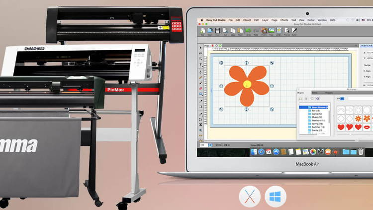 All-in-one design, print and cut software gives you the features to get started in sign-making business.