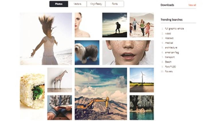 New online assets library enables SAi subscription-based software users quick and easy access to over six-and-a-half million images, graphics and templates.