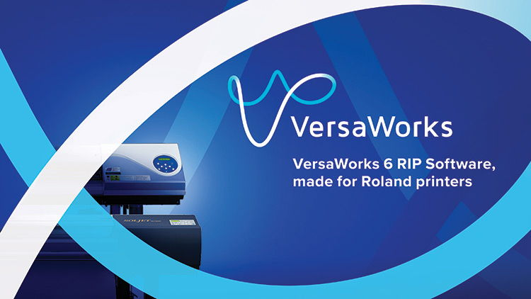 Roland DG announces latest version of VersaWorks 6 RIP software with important new functions for inkjet printers.