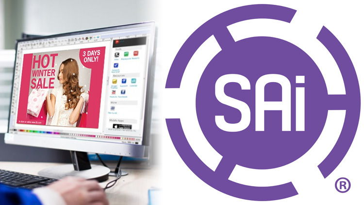 Having softly introduced a new color scheme at SGIA recently, SAi has officially switched from its familiar red to a vibrant purple branding.