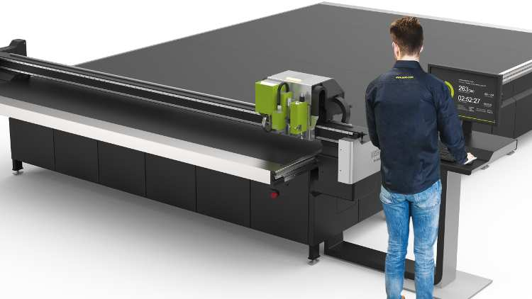 New Kongsberg C66 targets short run production of corrugated applications.