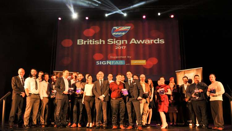 All the winners at this year's British Sign Awards.