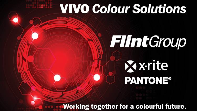 X-Rite and Flint Group announce global partnership.