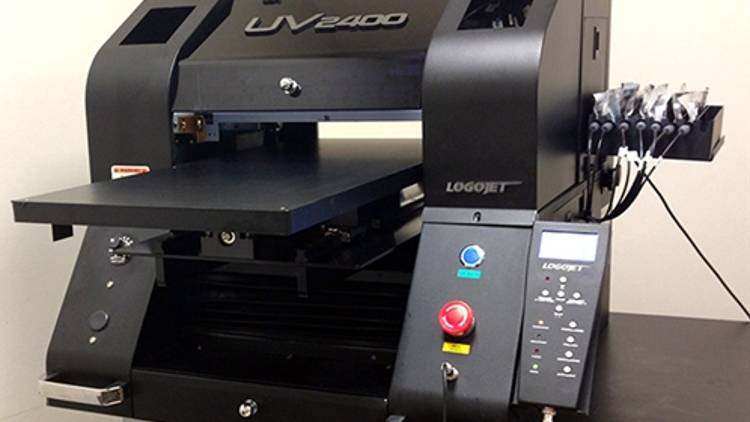 SGIA will use the LogoJET UV2400 for direct-to-substrate inkjet printing education.